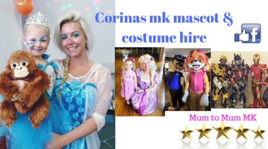Corinas mk mascot & costume hire-2