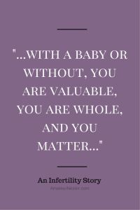 Infertility Quote