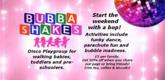 Bubba Shakes Ad Logo