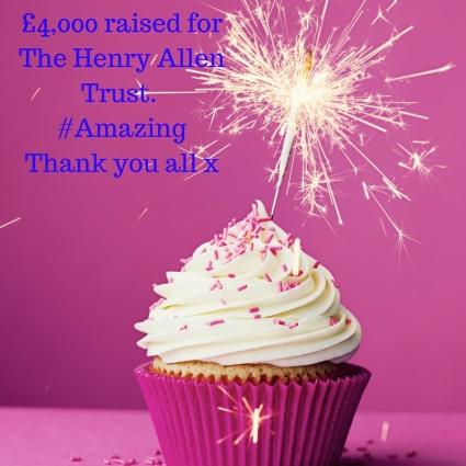 £4,000 raised