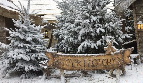 Toy Factory sign