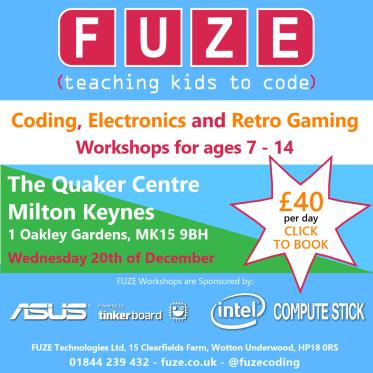 Fuze Workshop December